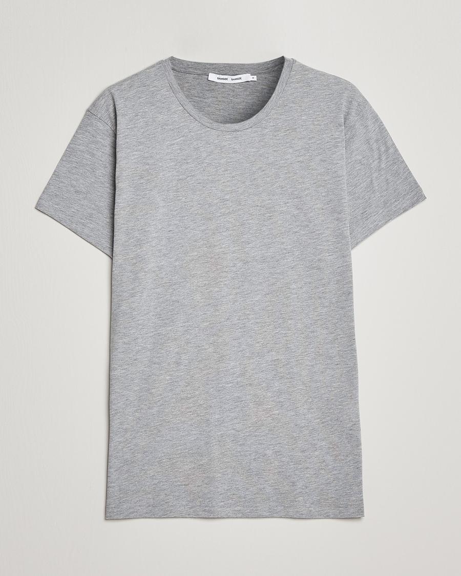 Samsøe Samsøe KRONOS - T-shirts - light grey melange
