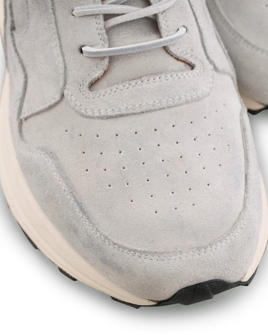 Buttero Vinci Vintage Running Suede Sneaker Bianco hos