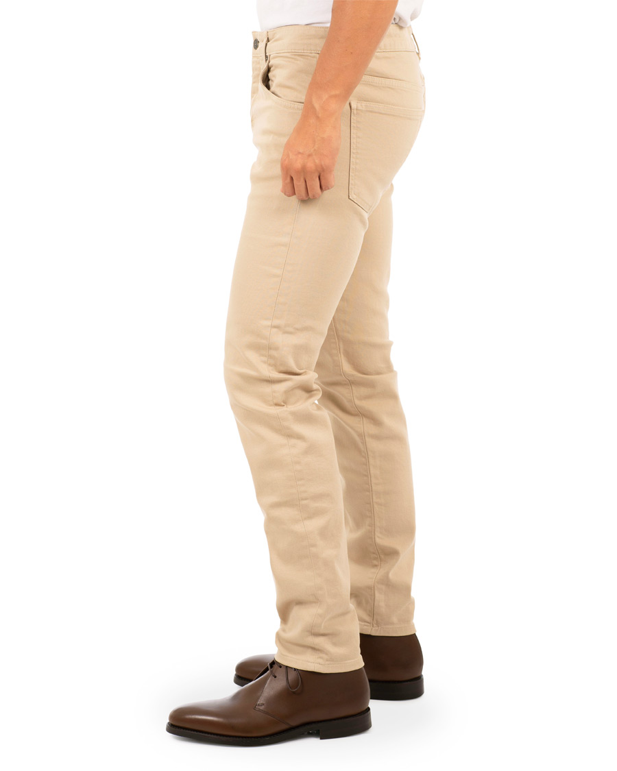 J.Lindeberg Jay Solid Stretch 5 Pocket Pants Oxford Tan hos