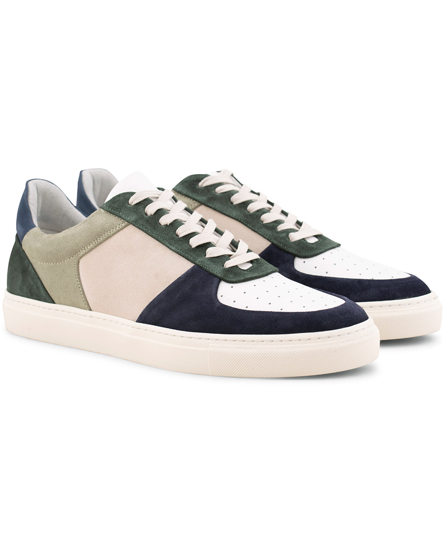 Filippa K Robert Low Mix Sneakers Limestone hos CareOfCarl.no