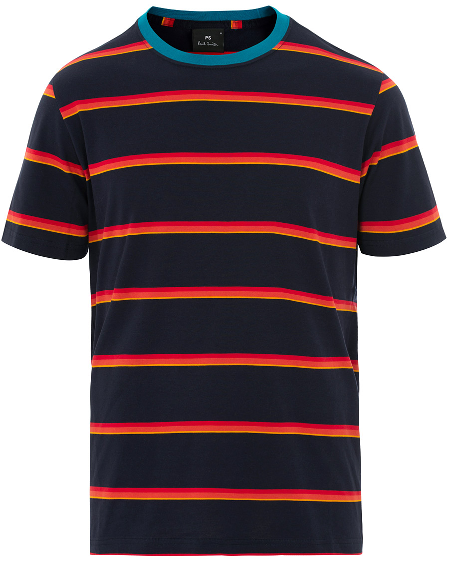 f43f4582 PS by Paul Smith Regular Fit Tee Navy hos CareOfCarl.no