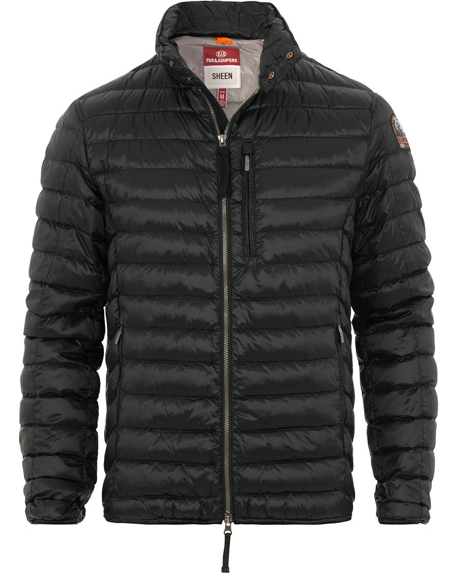 ad9caf43 Parajumpers Bredford Sheen Lightweight High Gloss Jacket Black ho