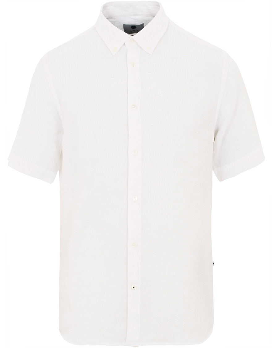 Hvit linskjorte fra GANT | Kjøp gode og tidløse