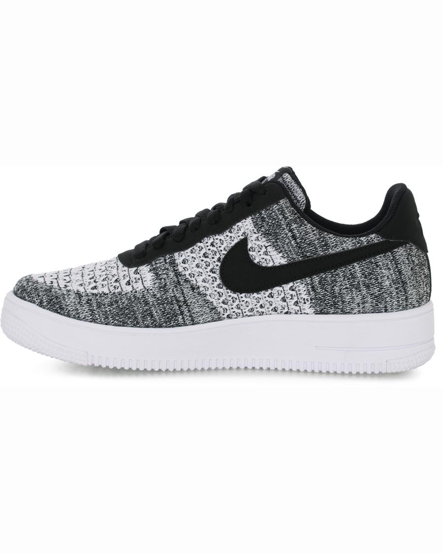 Nike Air Force 1 Flyknit Sneaker BlackPlatinum hos