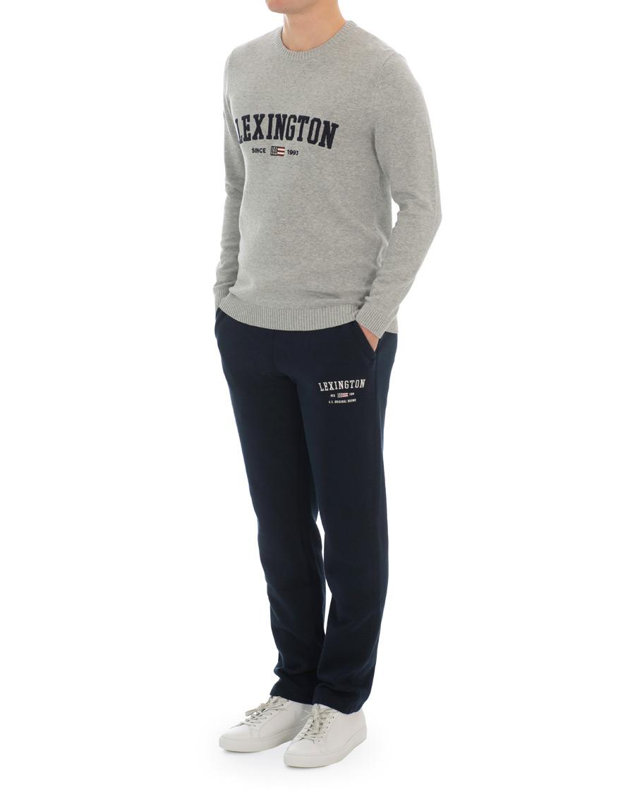 Lexington Brandon Jersey Pants Dark Blue hos CareOfCarl.no