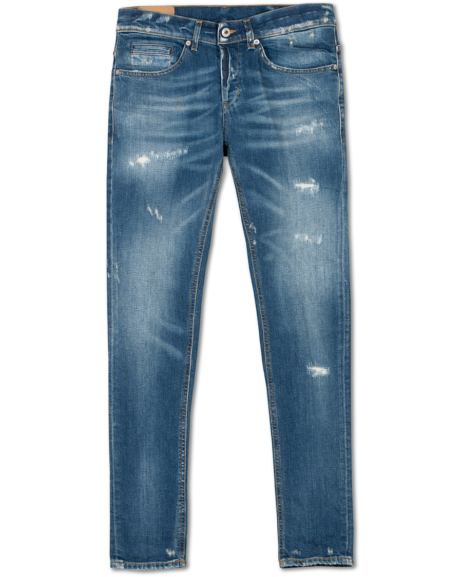 Blue George Zip Jeans  Dondup  Skinny Jeans - Dameklær er billig