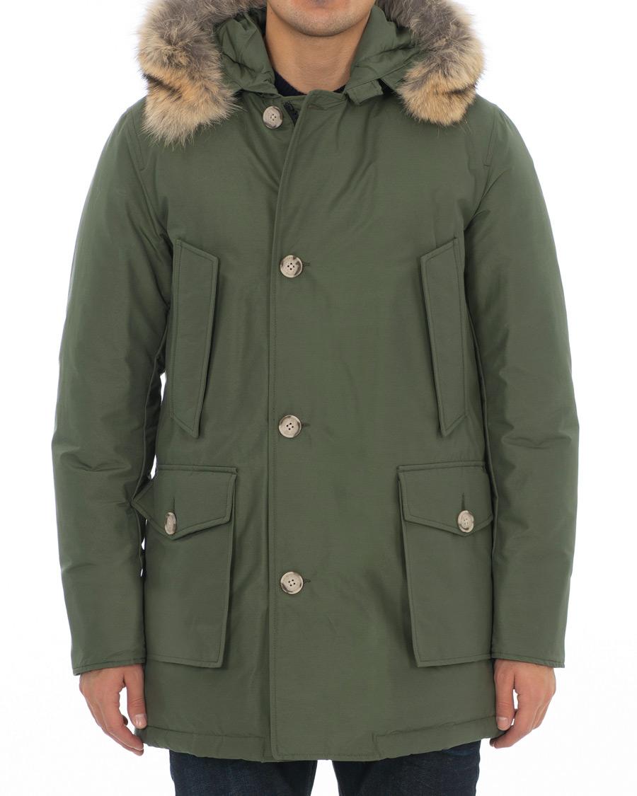 Woolrich Arctic Parka Df Green Hos Careofcarl No