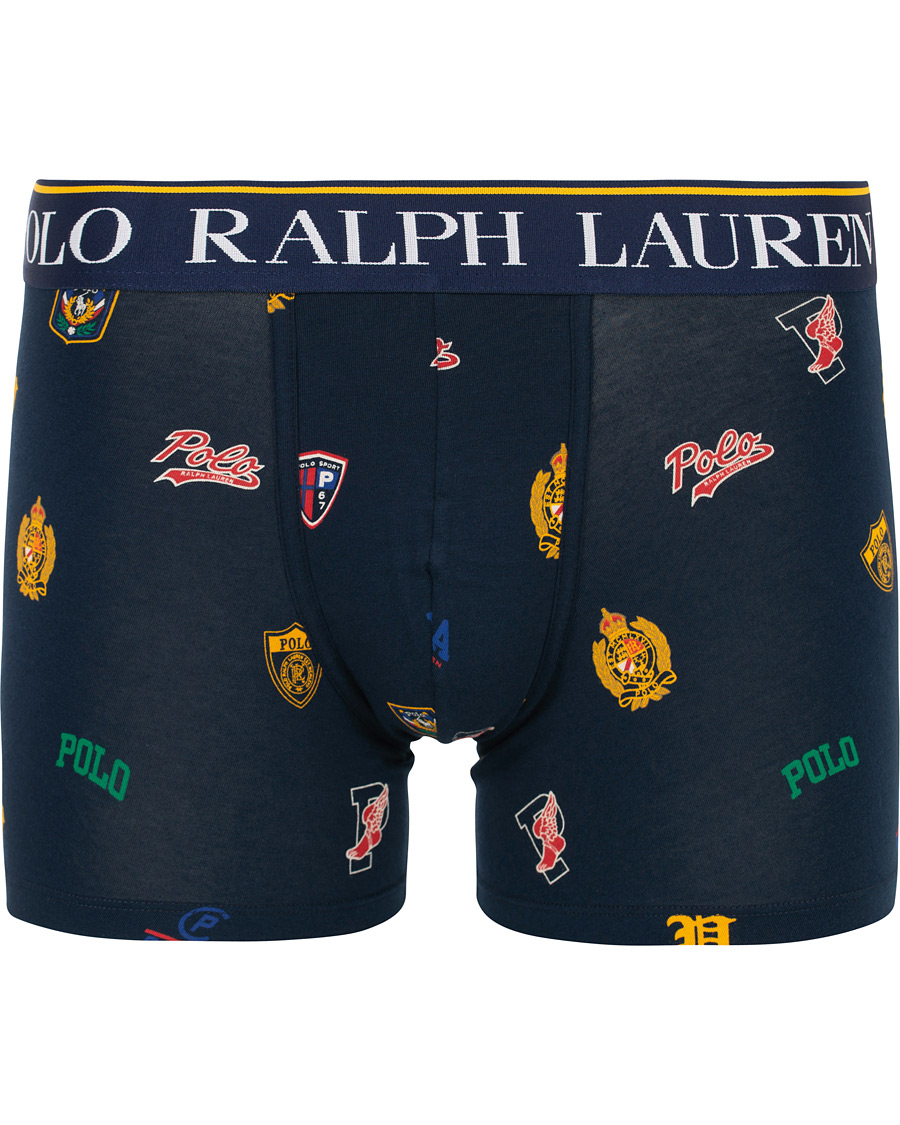 6d217f884 Polo Ralph Lauren Printed Logo Boxer Brief Navy S