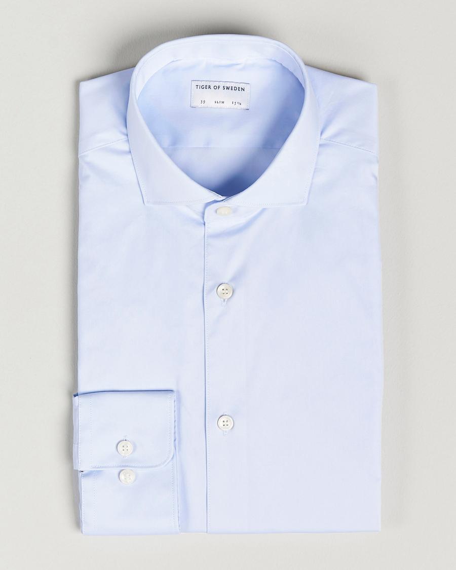 Lyseblå Farrell Slim fit skjorte | Tiger of Sweden