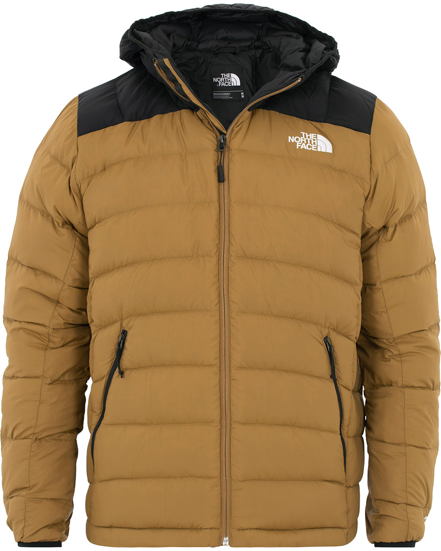 The North Face Lapaz Hooded Jacket British Khaki hos