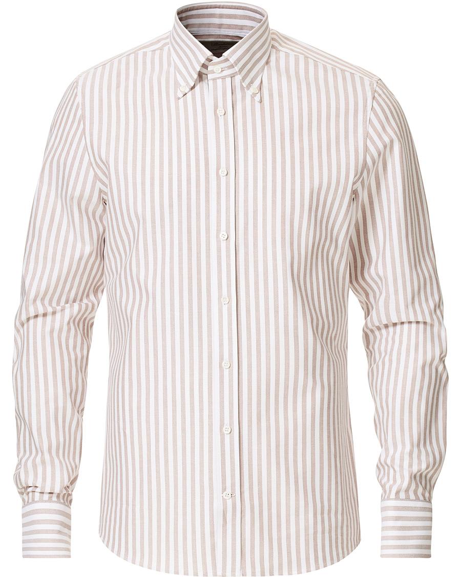 Stenströms Slimline Oxford Shirt White 38 S