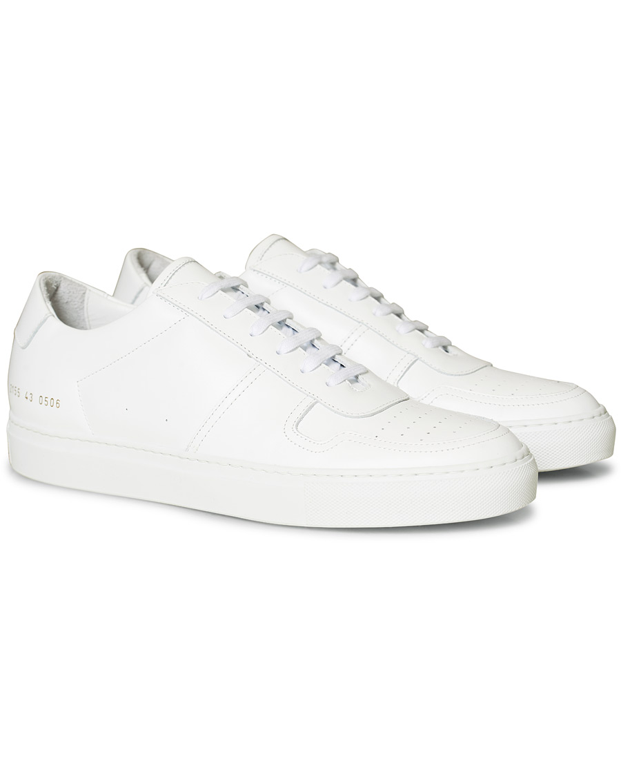 Common Projects B Ball Sneaker White Calf 39