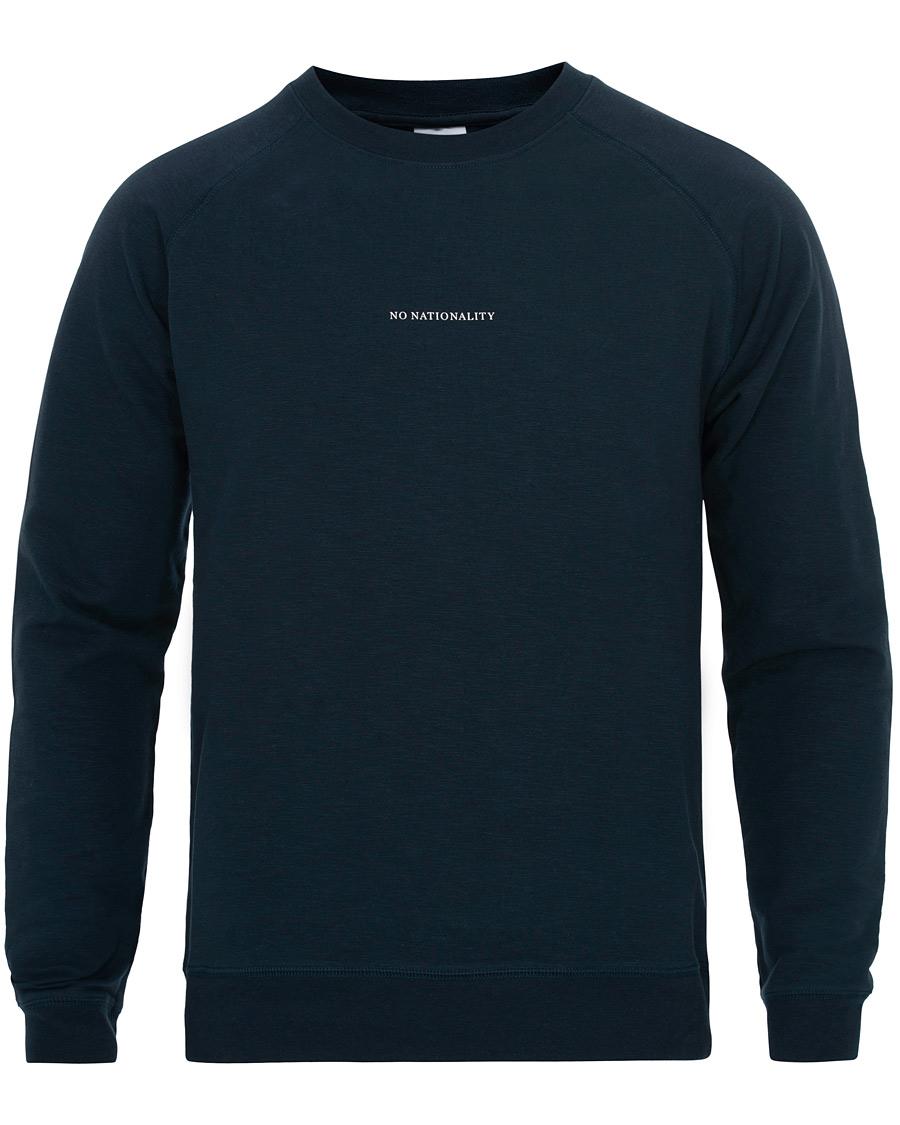 NN07 Robin Logo Crew Neck Sweatshirt Navy S