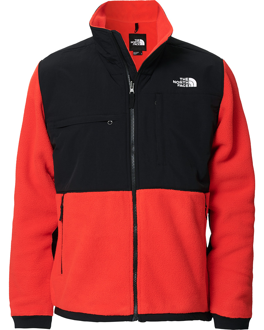 The North Face Denali Fleece DWR Jacket BlackRed S