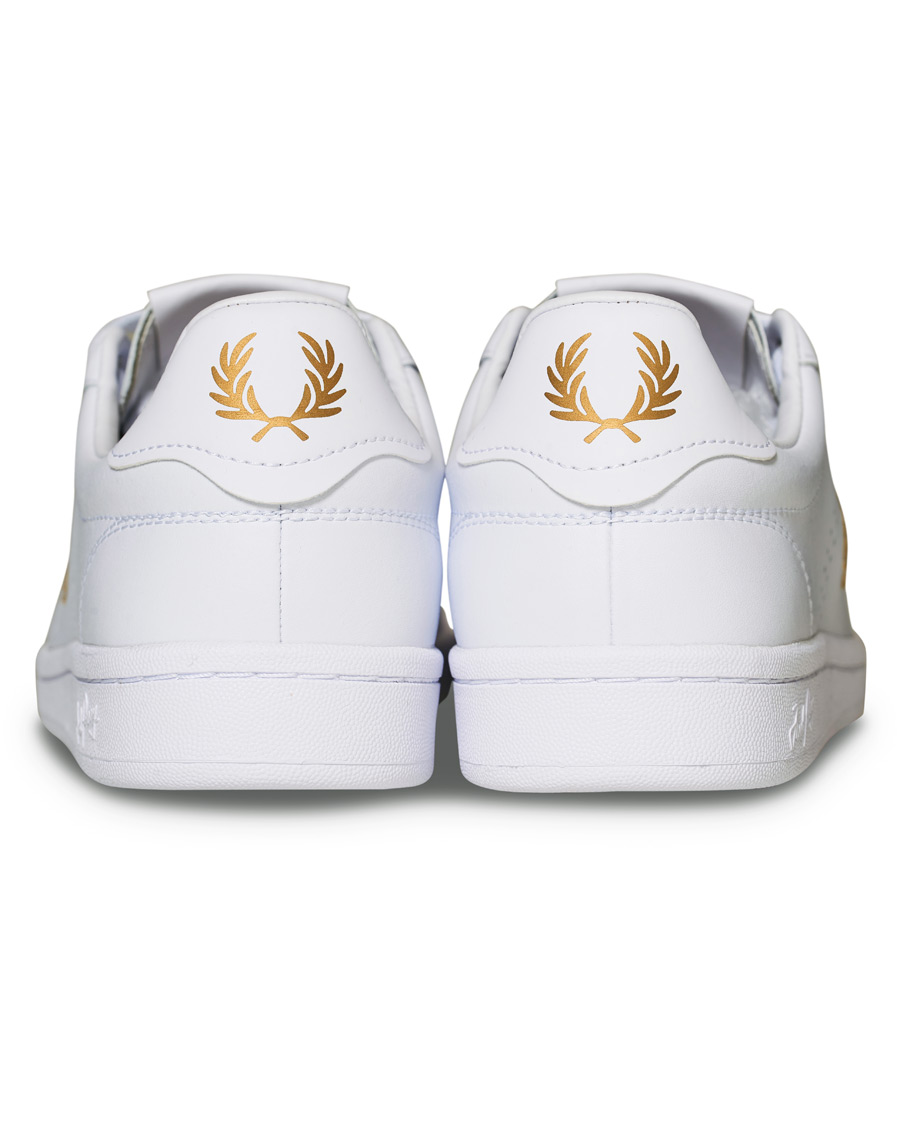 Fred Perry Park Side Leather Sneaker WhiteGold 40