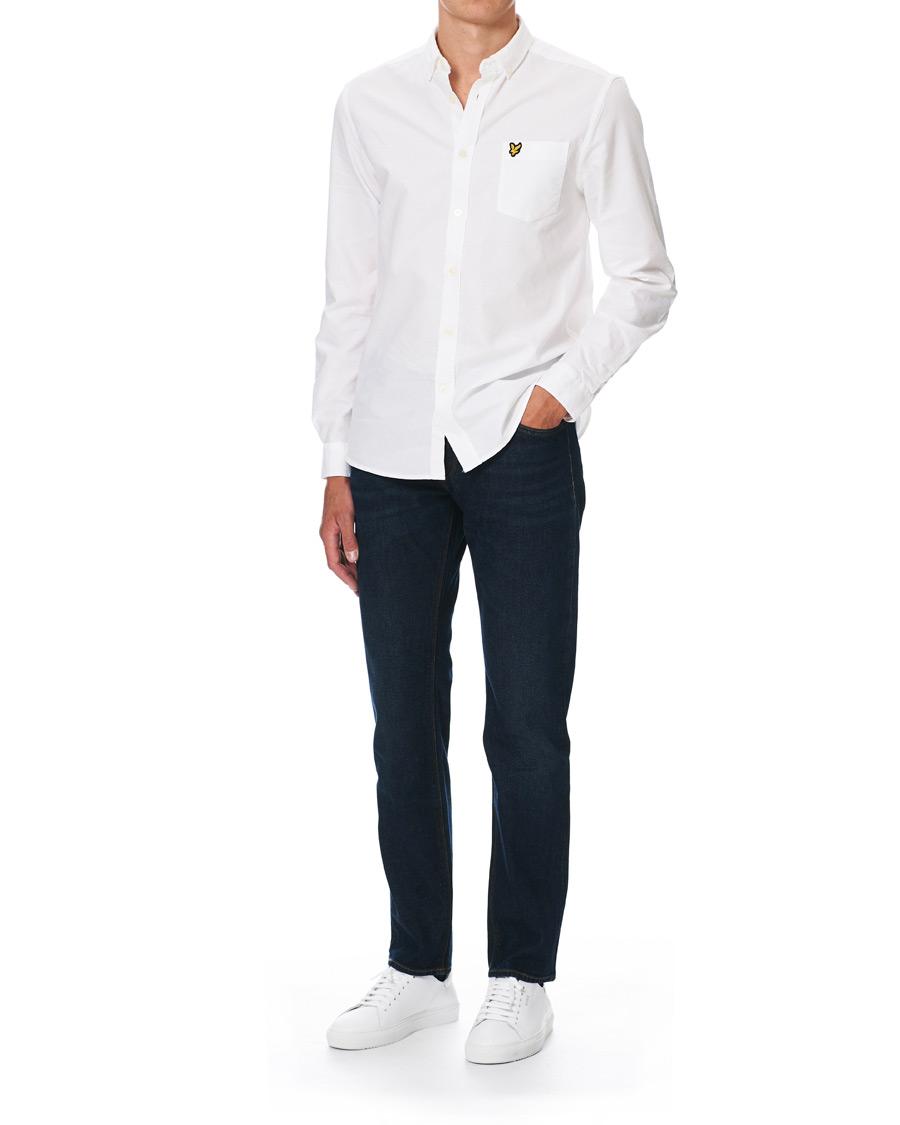 Lyle & Scott Oxford Shirt White hos CareOfCarl.no