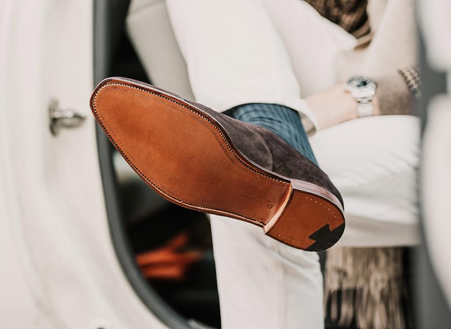 Stildebatten: Kan man bruke sko med lærsåler om høsten