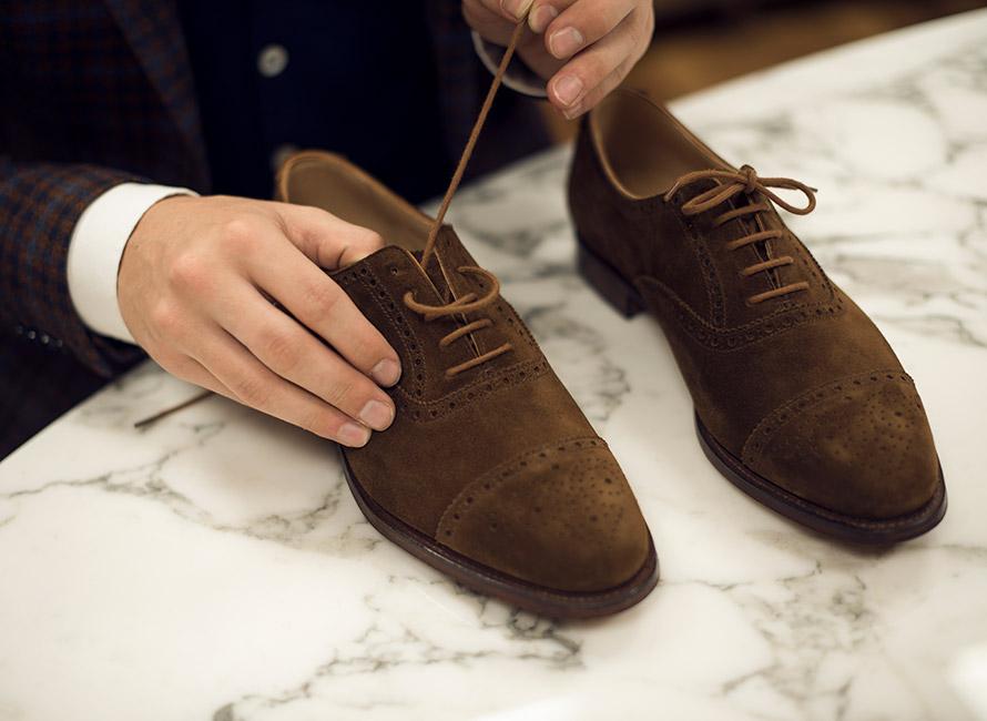 Fire måter å snøre skoene på   CareOfCarl.no
